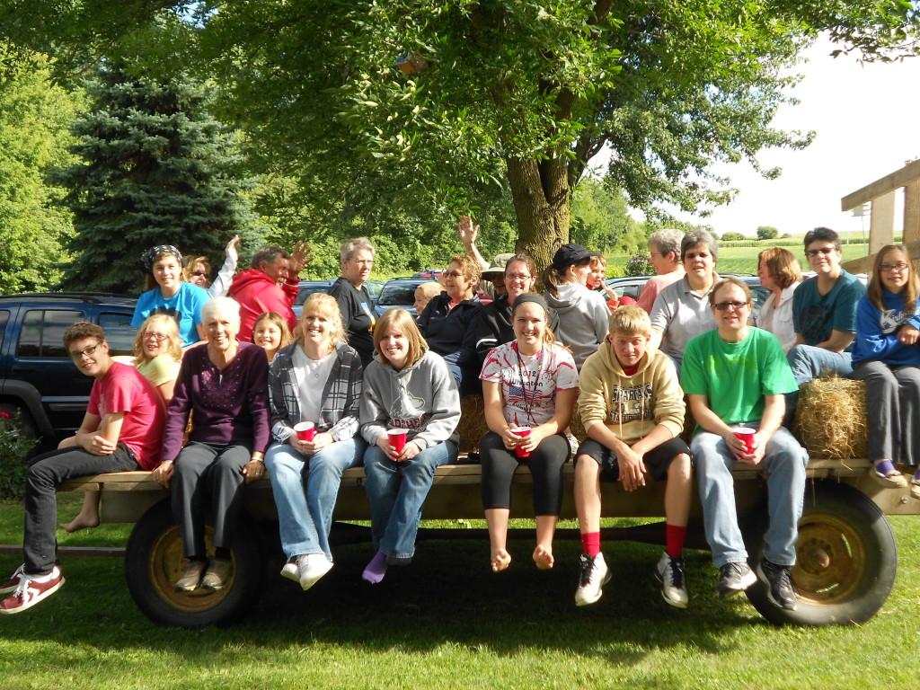 Group Hayride – Canoe Trip July 2013